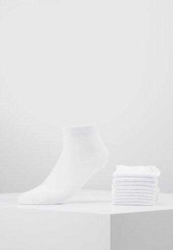 JACDONGO SOCKS 10 PACK - Calcetines - white