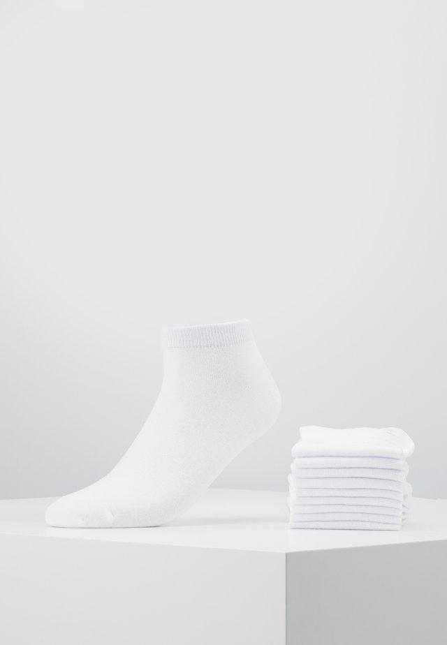 JACDONGO SOCKS 10 PACK - Sokker - white