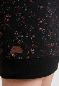 Ragwear - MENITA FLOWERS - Korte jurk - black - 5