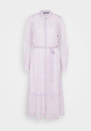 CHECKS KORA DRESS - Shirt dress - lavender