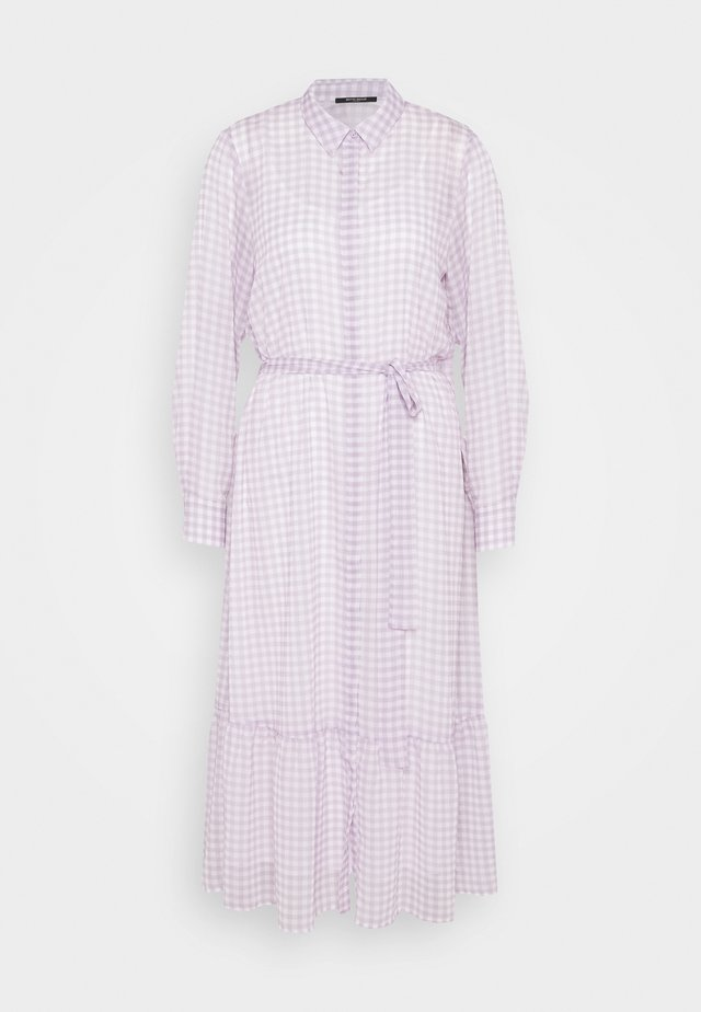 CHECKS KORA DRESS - Shirt dress - lavender