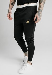 SIKSILK - DELUXE TRACK PANTS - Jogginghose - black - 0