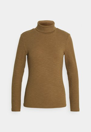 ONLJOANNA ROLLNECK - Long sleeved top - toasted coconut