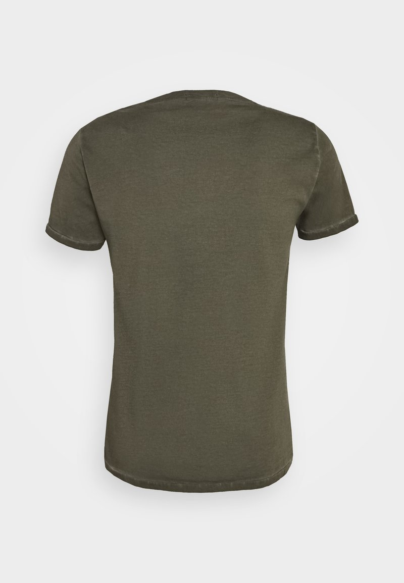 Replay T-Shirt print - military/oliv e4MSLU