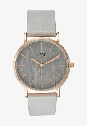 LADIES STRAP WATCH TEXTURED DIAL - Watch - grey
