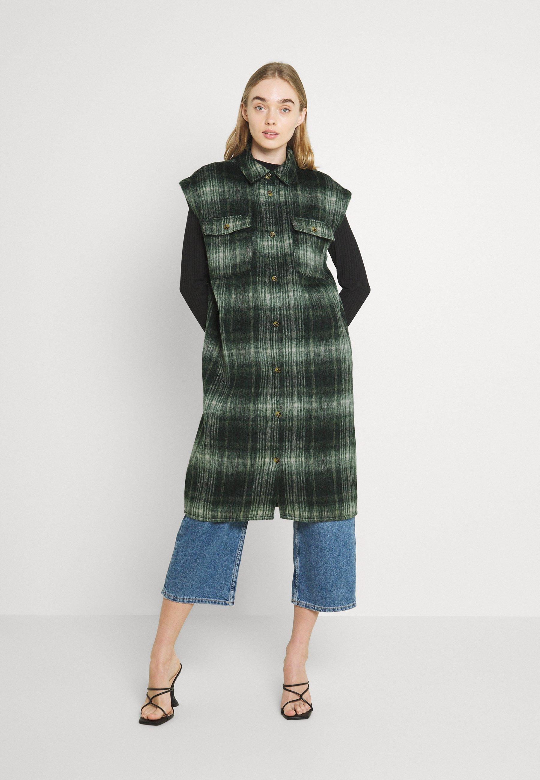 Women NMLULLA EXTRA LONG VEST - Waistcoat