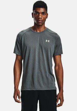 STREAKER - Print T-shirt - pitch gray