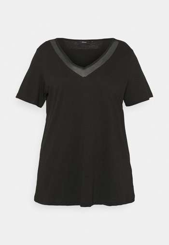 EFANNEY TEE - Basic T-shirt - black