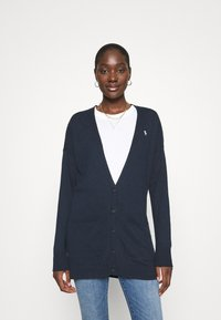 Abercrombie & Fitch - ICON CARDI - Cardigan - navy - 0