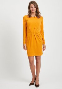 Vila - VICLASSY - Day dress - gold - 1