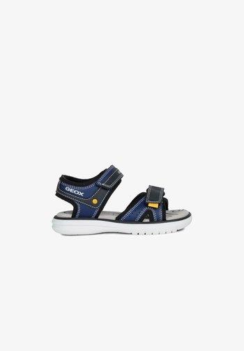 MARATEA - Walking sandals - blue