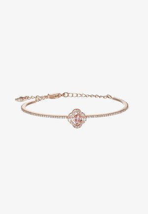 SPARKLING BANGLE - Armband - fancy morganite