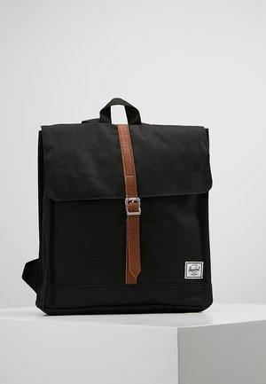 CITY MID VOLUME - Rugzak - black/tan
