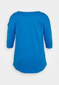 CAPSULE by Simply Be - COLD SHOULDER TUNIC - Top sdlouhým rukávem - blue - 7