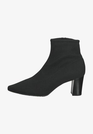 Korte laarzen - schwarz stretch