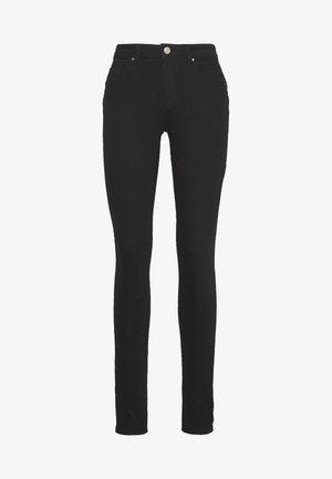 ONLDAISY PUSH UP - Skinny džíny - black denim