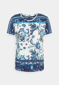 Desigual - MELIAN - T-shirt con stampa - azul dali - 3