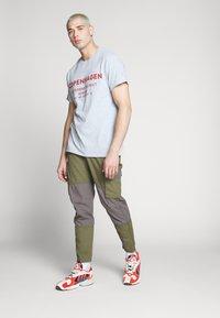 New Look - COPENHAGEN PRINT TEE - Print T-shirt - grey - 1