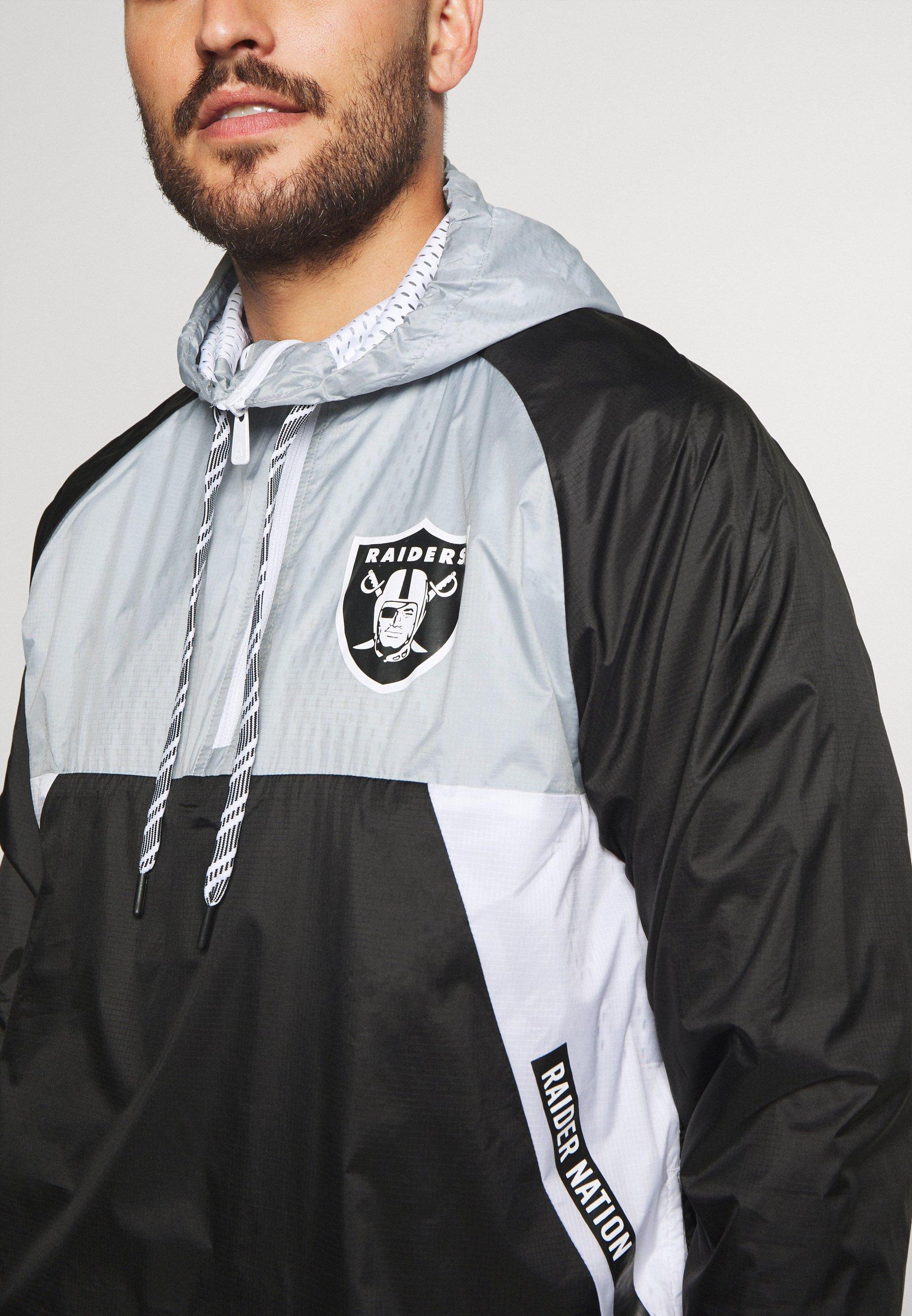 New Era NFL OAKLAND RAIDERS RIPSTOP - Article de supporter - black