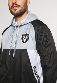 New Era - NFL OAKLAND RAIDERS RIPSTOP - Club wear - black - 5