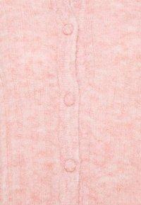 Moss Copenhagen - DEANNA CARDIGAN - Cardigan - powder pink melange - 2
