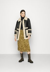 Object - OBJZANIA SKIRT - A-line skirt - khaki/animal - 1