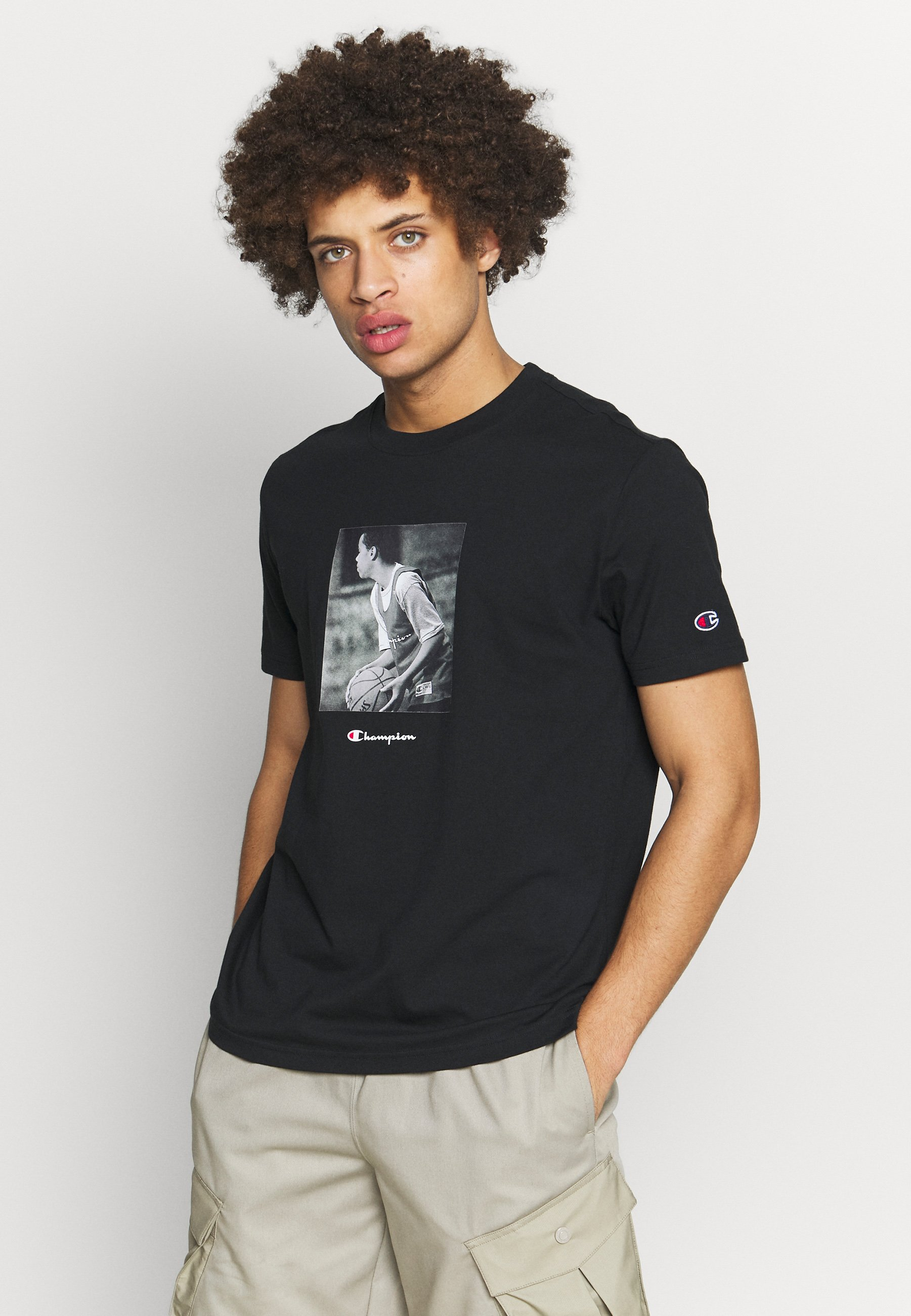 Men ROCHESTER THEME CREWNECK  - Print T-shirt