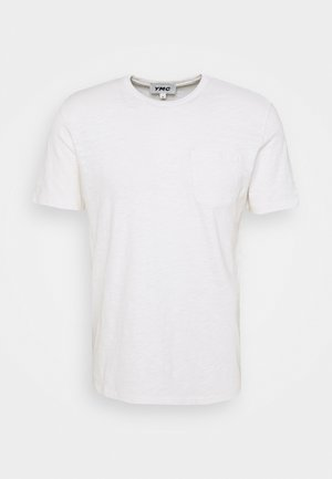 WILD ONES POCKET - Basic T-shirt - ecru