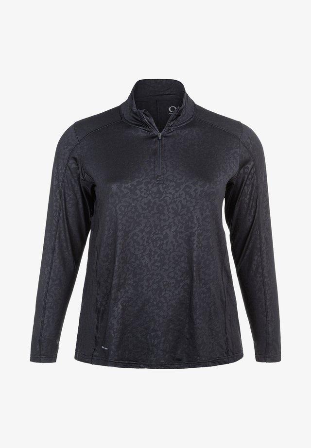 FUNKTIONSSHIRT JULIETTE W - Long sleeved top - black