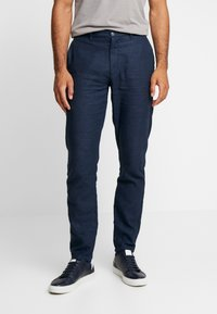 Springfield - PANT LINO TAILOR - Trousers - dark blue - 0