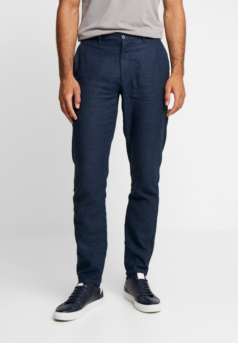 Springfield - PANT LINO TAILOR - Trousers - dark blue