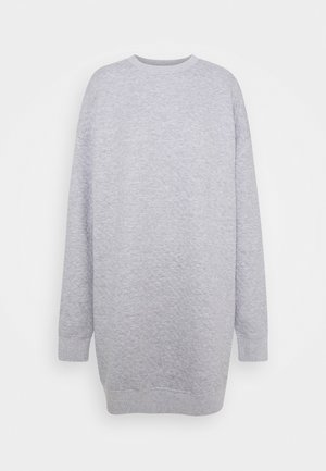 QUILTED SWEATER DRESS - Vardagsklänning - grey