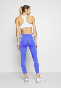 Nike Performance - ONE CROP - Leggings - sapphire/white/black - 2