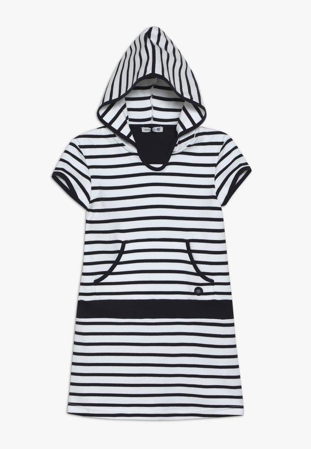 BALANCELLE - ROBE - Robe en jersey - blanc/navire