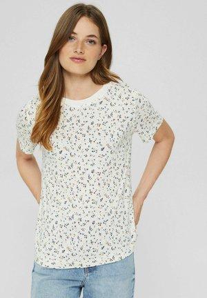 MIT PRINT  - Print T-shirt - off white