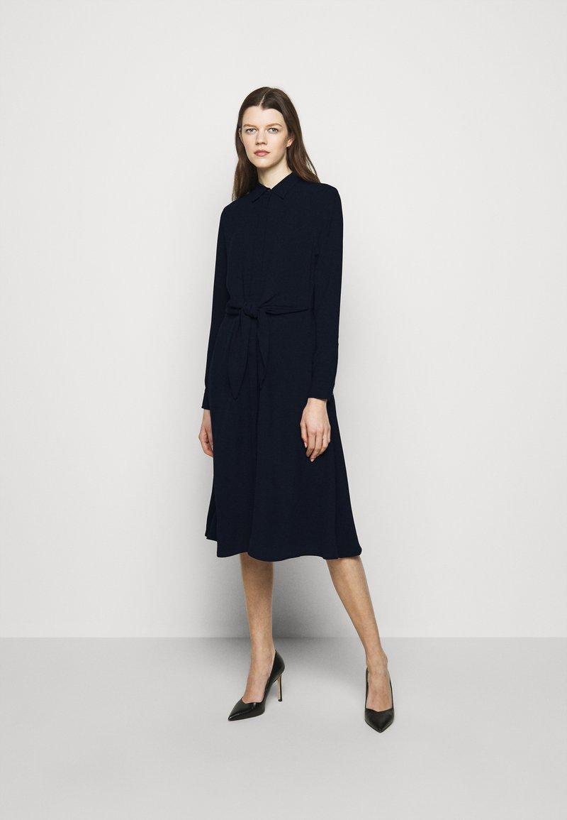 Lauren Ralph Lauren - TRIPLE GEORGETTE DRESS - Day dress - navy