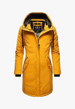 LETIZIAA - Winter coat - dark yellow