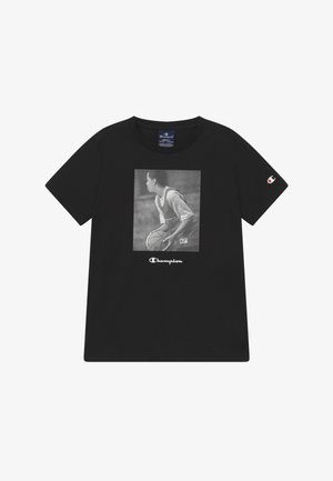 CHAMPION X ZALANDO GRAPHIC - T-shirt con stampa - black