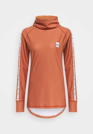 ICECOLD - Topper langermet - orange