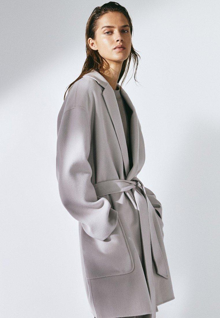 Massimo Dutti Manteau classique - beige - Manteaux Femme 61a8r
