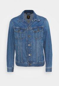 RIDER JACKET - Denim jacket - washed camden