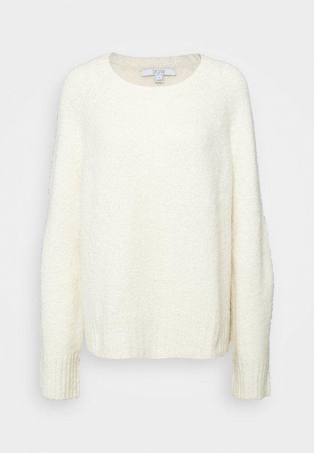 EMILY ROUND NECK - Pullover - white