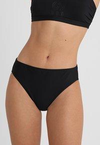 Esprit - OCEAN BEACH CLASSIC SOLID BRIEF - Bikini bottoms - black - 0