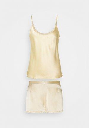 SHORT PAJAMAS - Pyjama set - beige stone