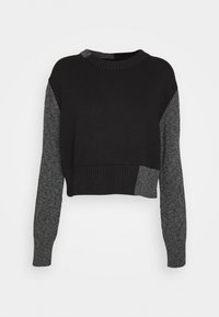 MM6 Maison Margiela - Jumper - black/grey - 0