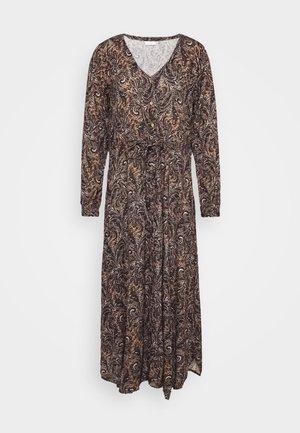 SAIDA AMBER DRESS - Maxi dress - woodsmoke/marine