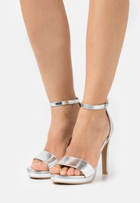 BEBO - CIMONA - High heeled sandals - silver - 0