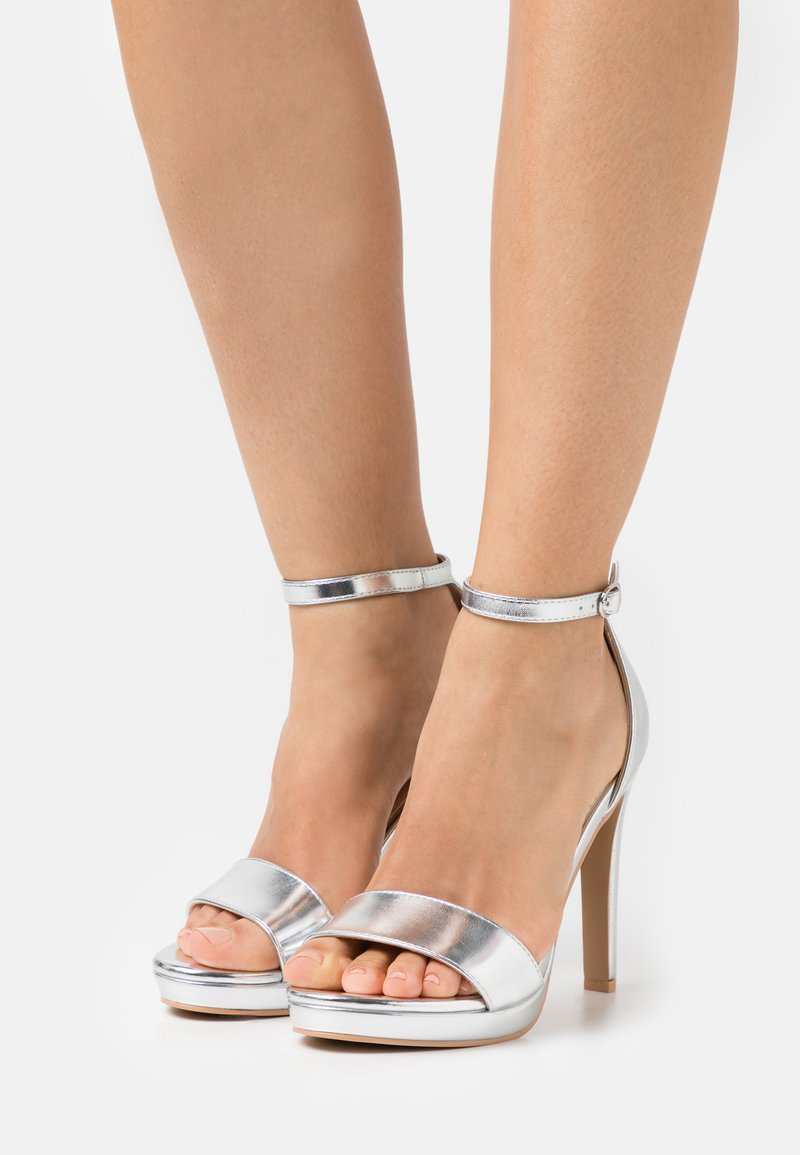 BEBO - CIMONA - High heeled sandals - silver