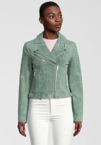 Rino&Pelle - DAMINA - Leather jacket - green - 0