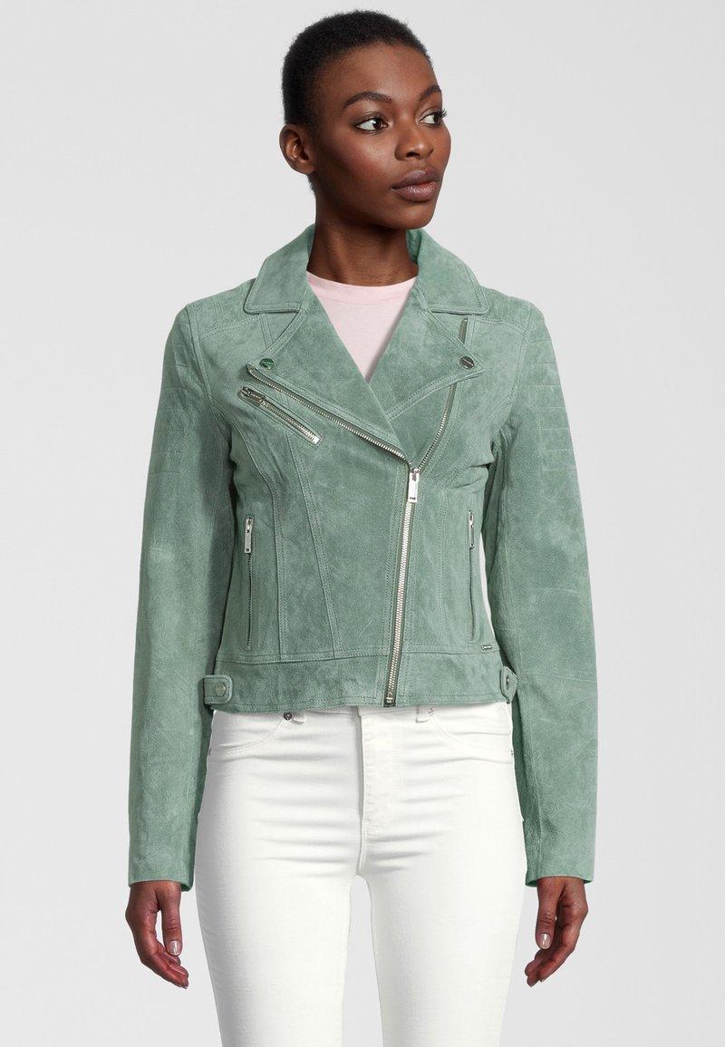 Rino&Pelle - DAMINA - Leather jacket - green